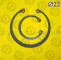 Кольцо стопорное DIN 472 Ф22, фото 1