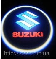 Проекция логотипа автомобиля SUZUKI