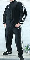 Спортивный костюм мужской больших размеров реплика ADIDAS, Корея