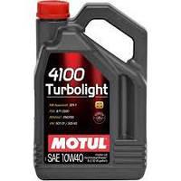 Моторное масло MOTUL 4100 Turbolight 10W-40 5л