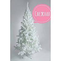 Белая искусственная ель высота 0.8 м