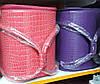 Чемодан-кейс, маникюрная сумка для мастера, кож.зам, лак, цвет фиолетовый