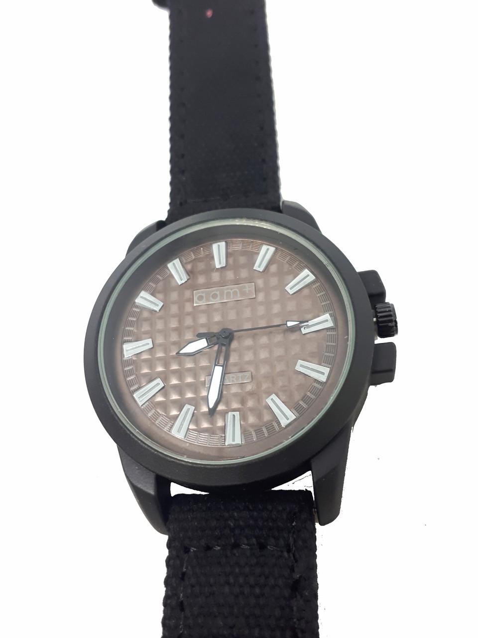 Часы кварцевые мужские  AAM+ Черный