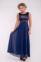 Летнее шифоновое платье №15025
