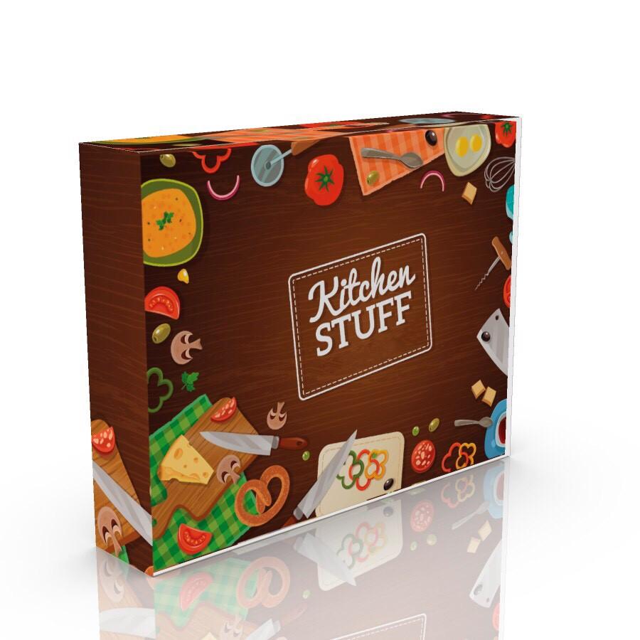 Коробка-сумочка картонная  3 вида