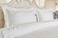 Комплект постельного белья  Kelebek White