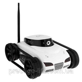 Танк на радиоуправлении Happy Cow WiFi I-Spy, танк-шпион с Wi-Fi камерой