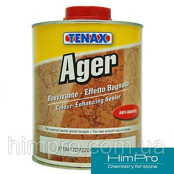 "AGER 1L Tenax пропитка для защиты мрамора и гранита ""мокрый эффект"""
