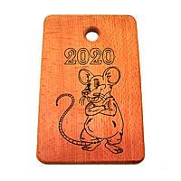 """Кухонная доска  """" Мыша 2020 """" 320*170"""
