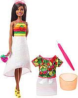 Кукла Barbie Crayola Фруктовый сюрприз Mattel