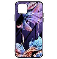 Чехол-накладка TPU+Glass Fantasy светящийся в темноте для iPhone 11 Pro (Рыбка)