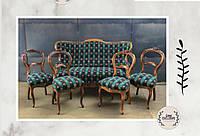 Диван-софа и стулья в стиле «Бидермейер»