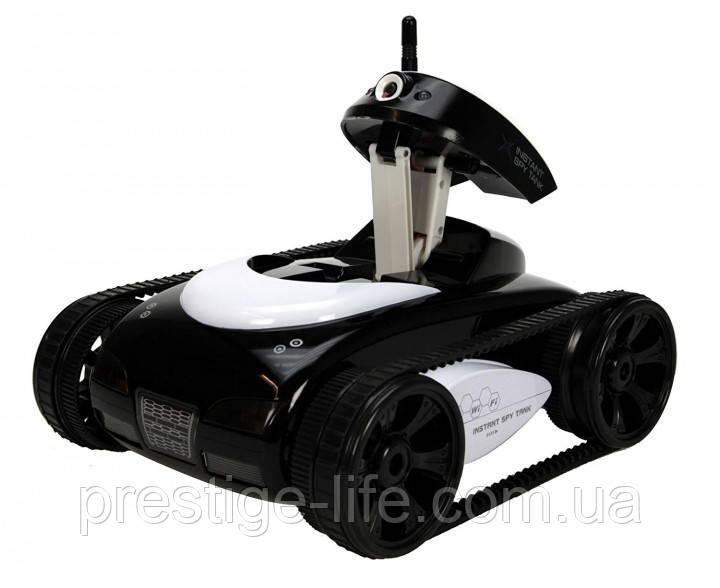 Танк-шпигун на радіокеруванні Happy Cow I-Spy з Wi-Fi камерою