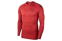 Термобелье мужское Nike Top Tight LS Mock BV5592-681 Бордовый