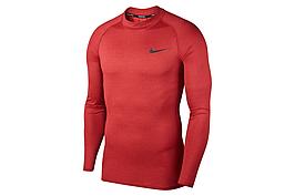 Термобелье мужское Nike Top Tight LS Mock BV5592-681 Бордовый Размер L