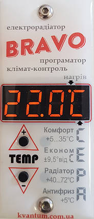 Электрорадиатор BRAVO 8 секций - отопление 16 кв.м, фото 2
