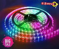 Лента светодиодная без силикона 50/50 RGB 5м OPP (Симфония) (RGB)