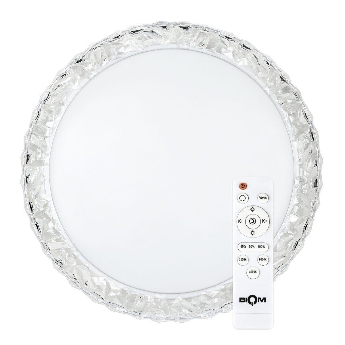 Світильник світлодіодний Biom SMART SML-R09-80 3000-6000K 80Вт з д/к