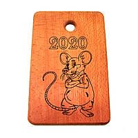 """Кухонная доска  """" Мышка 2020 """""""