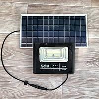 Прожектор на солнечной батарее, 25Вт 6500К Sunlight, фото 1