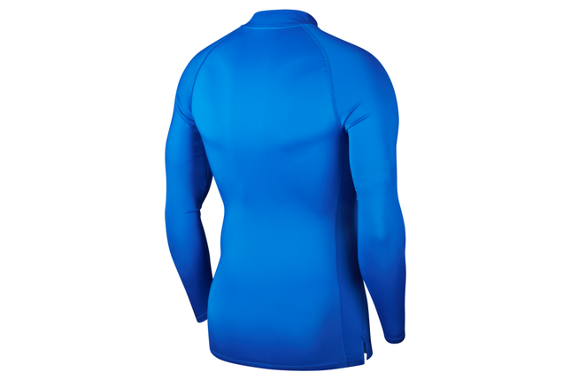 Термобелье мужское Nike Top Tight LS Mock BV5592-480 Синие, фото 2