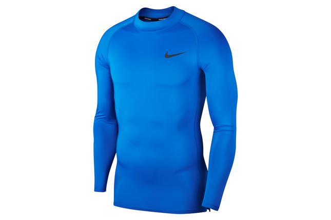 Термобілизна чоловіча Nike Top Tight LS Mock BV5592-480 Сині, фото 2