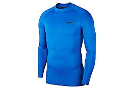 Термобелье мужское Nike Top Tight LS Mock BV5592-480 Синие XL