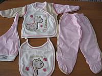Подарочные комплекты для новорожденых  из 5ти предметов Динозаврик  , фото 1