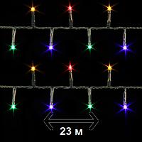 """Гирлянда новогодняя Luca Lighting """"Змейка"""", 23 м, мультицветная (для дома и улицы), фото 1"""