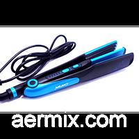 Стайлер GEMEI GM 1961 для волос керамический 2в1 с эффектом гофре 30 Вт