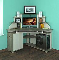 """Кутовий компютерний стіл """"Форум Малий"""" (10 кольорів)"""