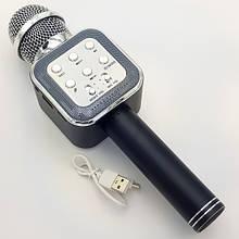 Беспроводной микрофон-караоке WS-1818 Black