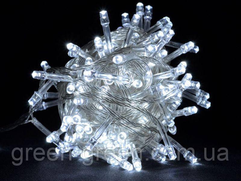 Гирлянда светодиодная LED 300 лампочек 20м. холодный белый