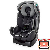 Автомобильное кресло для детей от рождения до 6 лет (до 25 кг) Bambi M 3678 Silver Gray