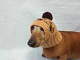 Шапка для маленькой собачки с оленями, фото 6
