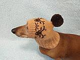 Шапка для маленькой собачки с оленями, фото 7