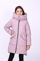 Куртка детская зимняя «Чика» на девочку ТМ MANIFIK, пудра