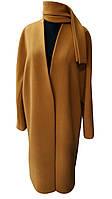 Пальто жіноче № 334 Кашемір Camel 12