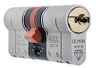 Цилиндр замка ULTION 30-30T, 4 ключа, ключ-тумблер