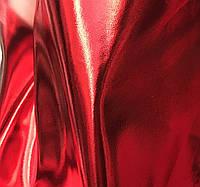 Ткань Экокожа_красный