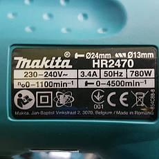 Перфоратор Makita HR 2470, фото 3