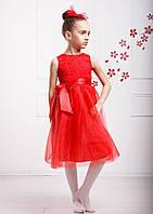 Платье Венеция красный София Шелест, 110