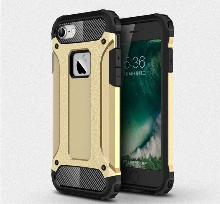Чехол Guard для Iphone 6 Plus / 6s Plus Бампер бронированный Immortal Gold