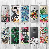 Силиконовый чехол с рисунком для Samsung Galaxy Note 7 Duos N930F (new collection)