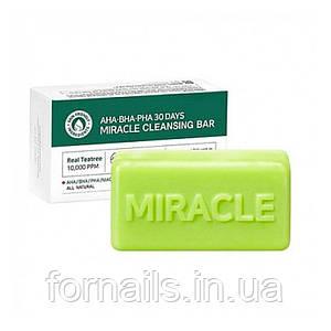Мыло для проблемной кожи, Some By Mi AHA-BHA-PHA 30 Days Miracle Cleansing Bar