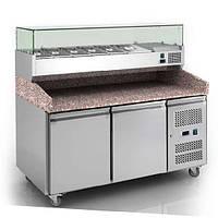 Стол холодильный для пиццы COOLEQ PZ 2600TN-VRX 1500/380 (1,51 м)