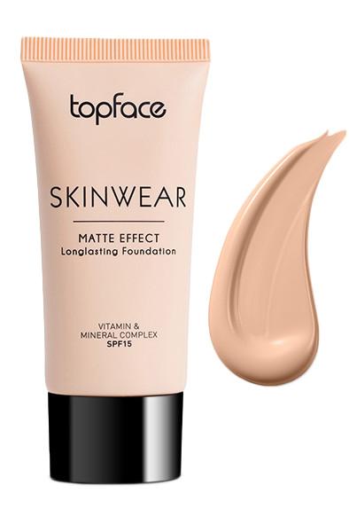 Тональный крем Topface SkinWear Mat PT468