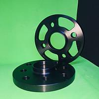 Проставки колесные сквозные 15мм/ psd 4х100х114,3/ dia 56.6 (Дэо Ланос, Daewoo, Opel, Chevrolet, Daihatsu)