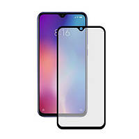 Захисне скло Xiaomi MI9 SE 3D 9H Full Glue Glass прозоре (чорне) EpiK