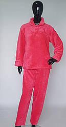 Пижама женская махровая в расцветках